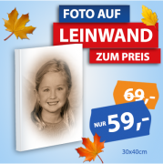 Portrait Leinwand Sepia